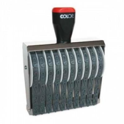 Colop 15010 Нумератор 10-разрядов, высота шрифта 15мм