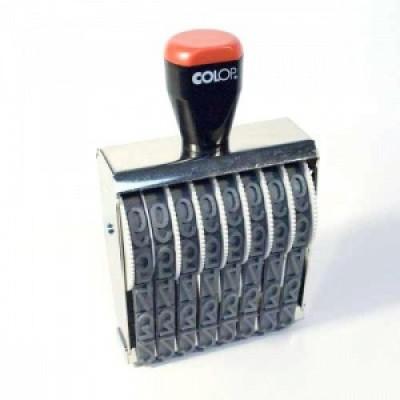 Colop 18008 Нумератор 8-разрядов, высота шрифта 18мм