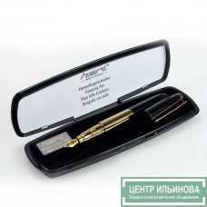 HERI 8020 PROMESA ручка-штамп «позолоченная» 33х8мм 3 строчки